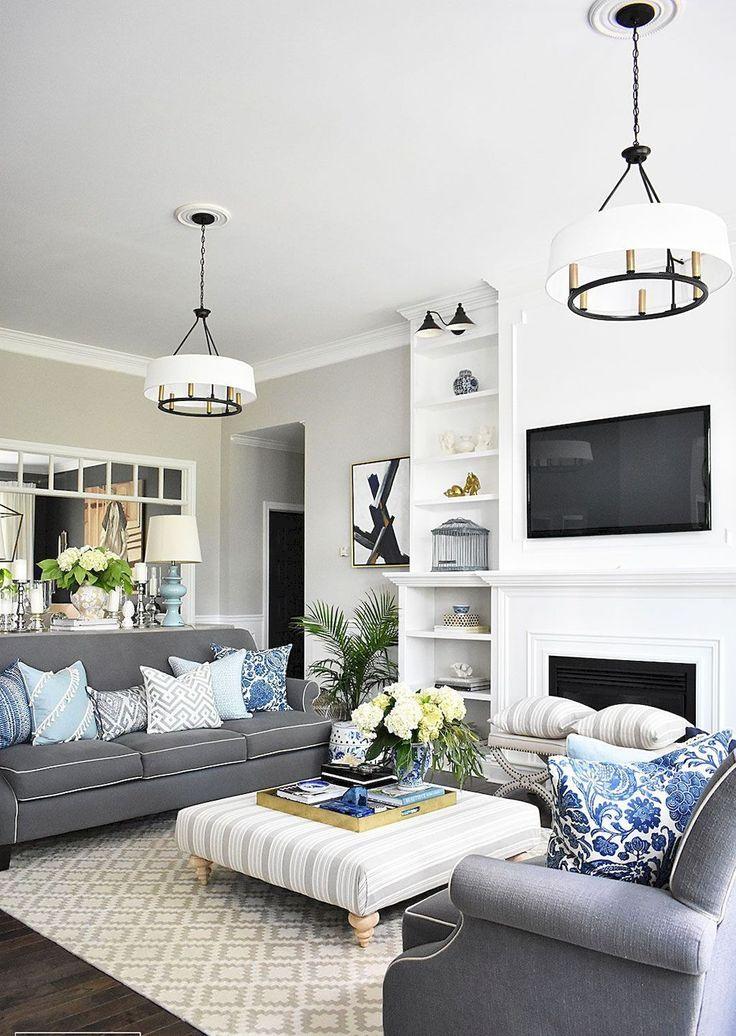 70 Creative Living Room Ideas Open Concept Living Room French Country Living Room Blue Living Room