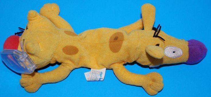 Vtg Nickelodeon Cat Dog Catdog 1999 Plush Star Bean 12