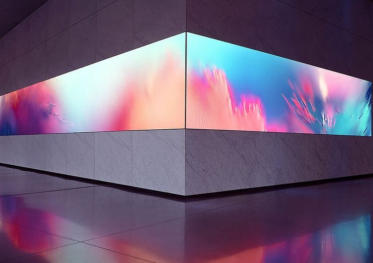 "Dolby Laboratories commissioned German studio Onformative to create ""Collide"", a synaesthetic art installation that transforms recorded motion data into abstract visuals and sound . ""Surreal visuals and an engaging soundscape create an immersive space capturing the essence of motion, colour and sound to visualize a synaesthetic experience of letting go and losing oneself in the creative process."