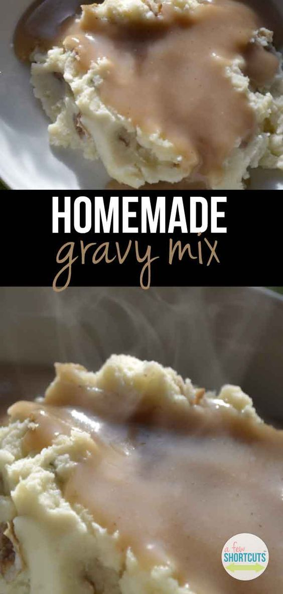 Love gravy? Don't buy those nasty packets! Make your own Homemade Gravy Mix in minutes with this simple recipe!