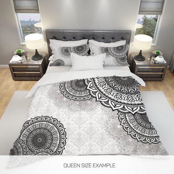 Mandala Bedding Mandala Full Bedding Mandala Bedding Set Etsy Luxury Bedding Master Bedroom Bedding Sets Master Bedroom Bed Decor