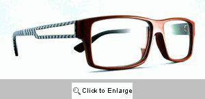 Blake Clear Lens Glasses - 358 Red