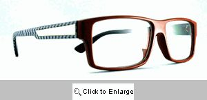 Blake Clear Lens Glasses - 358 Red