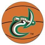 Ncaa University of North Carolina Charlotte Orange 2 ft. 3 in. x 2 ft. 3 in. Round Accent Rug