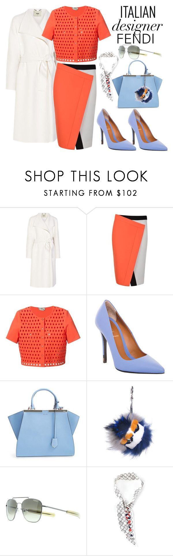 """Italian Fashion Designers Rule! // FENDI"" by ohlizzy ❤ liked on Polyvore featuring Fendi, fendi and italianfashion"