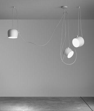 Flos Aim Small LED Sospensione 3 Pendel - Flos Aim Small LED Sospensione 3 Pendel kaufen: Online + Hamburg + Berlin – Design Leuchten & Lampen Online Shop