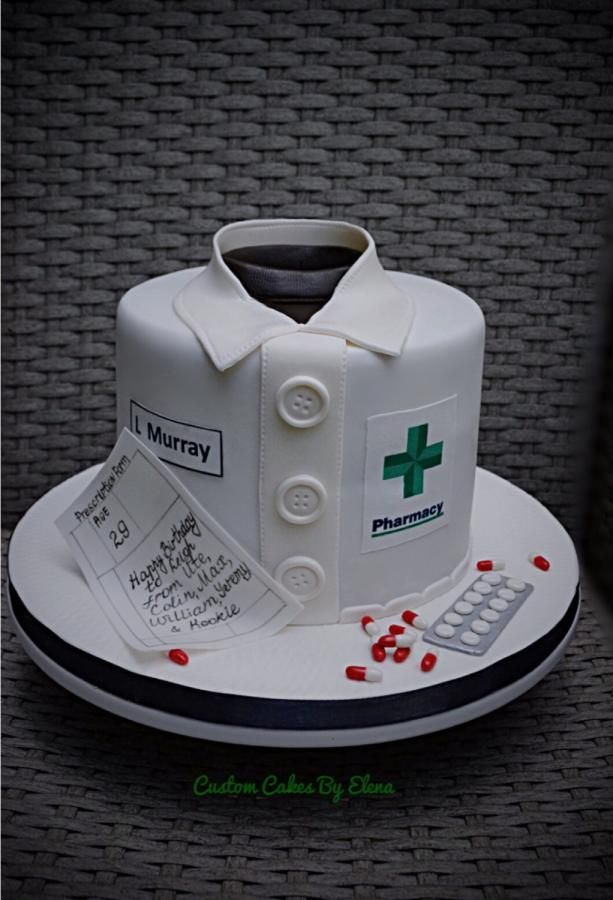 Pharmacy cake - Cake by Elena                                                                                                                                                                                 Mehr