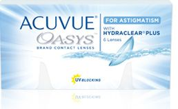 ACUVUE® OASYS® Brand Contact Lenses for ASTIGMATISM