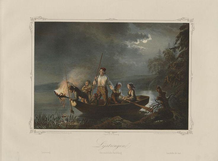 Norske Folkelivsbilleder - Adolph Tidemand - Lystringen. jpg (1280×946)