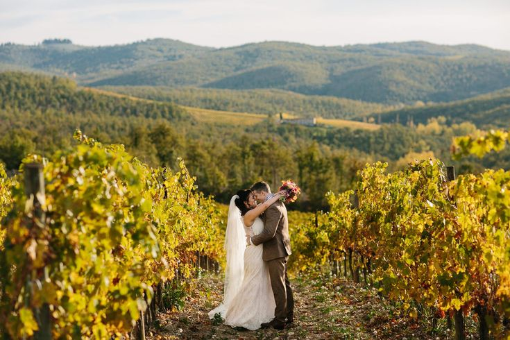 Funny to see how colours change during the year.  The best time for a vineyard photo session is the end of september/october. // #autumn #castellodimeleto #wedding #vineyardwedding #chiantivineyards #instawed #gaiole #florence #italy #juliankanz  @katia_meleto @castellodimeleto @j_gone_ill @vickoneill