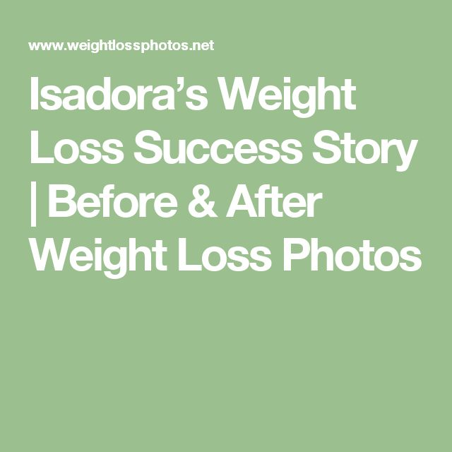 Isadora's Weight Loss Success Story | Before & After Weight Loss Photos