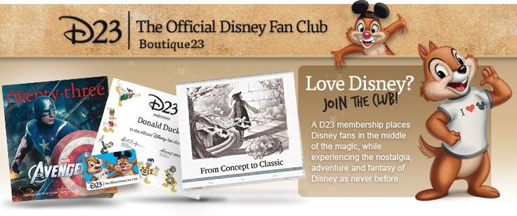 D23 Membership! :D :D :D