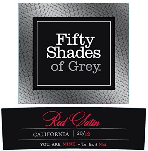 2012 Fifty Shades of Grey Red Satin 750 mL Wine