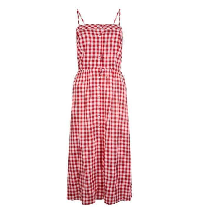 New Look- gingham dess