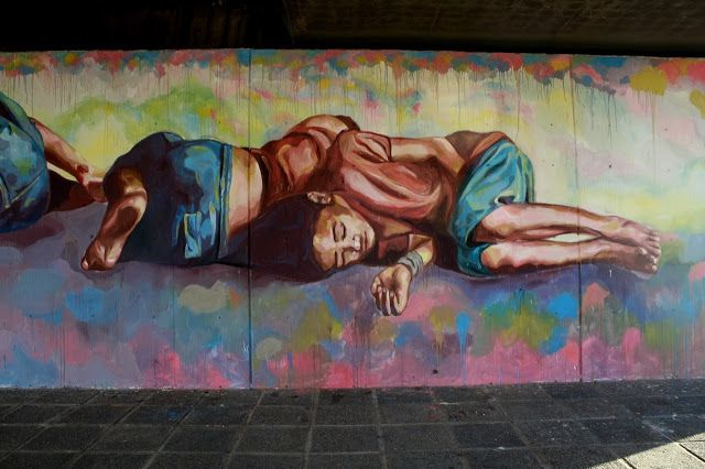 Street Art By El Marian For Proyecto Puente In Cordoba, Argentina.