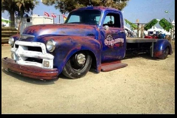 54 Chevy Bobtail Dually Laid Out Rats Dually Trucks