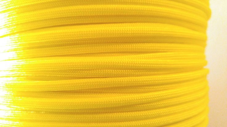 New to FarrallyManMade on Etsy: 550 Paracord Neon Yellow Paracord Supplies Hank Wholesale Bulk Paracord Survival Bracelet Supplies (3.99 USD)