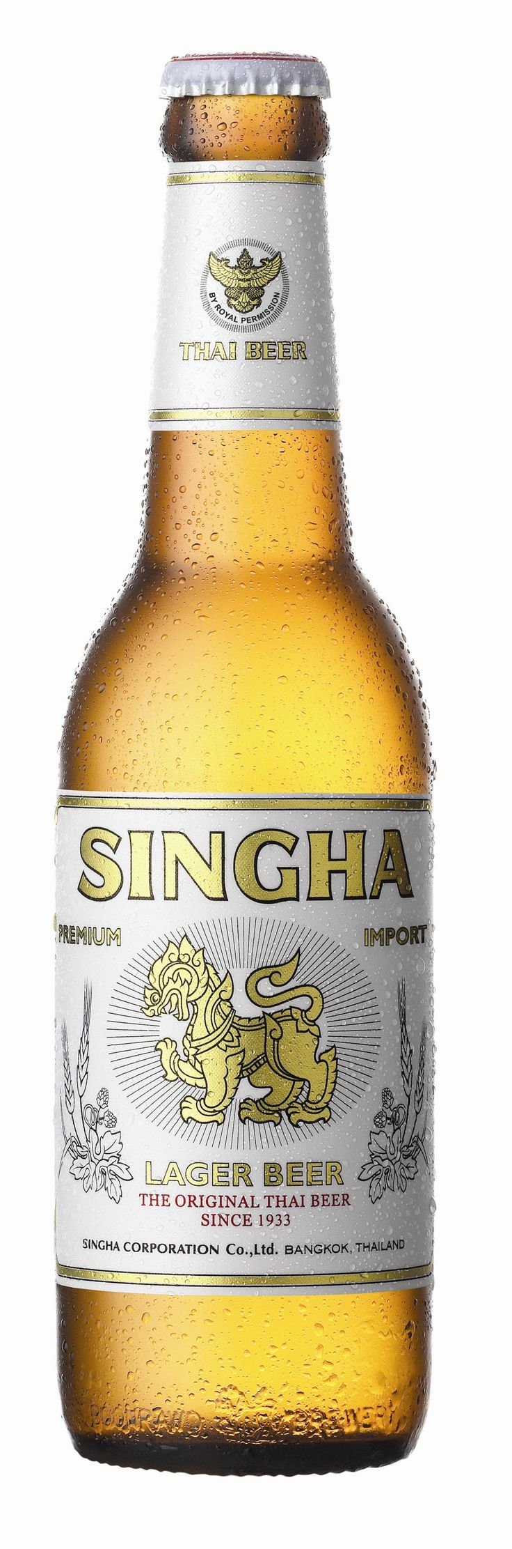 Singha - love the label, not such a fan of the beer!