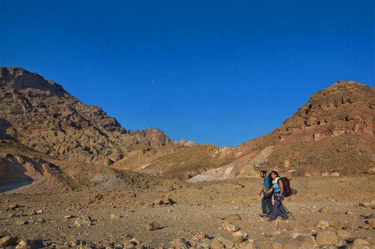 Hiking trails near Eilat, Israel. http://Exploretraveler.com