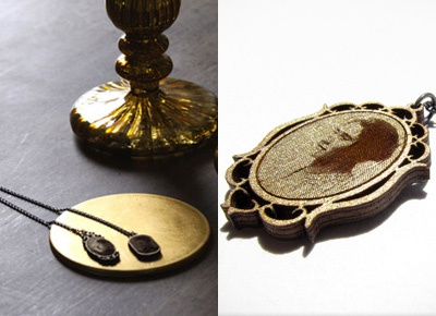 Alex Henderson's exquisite portrait pendants
