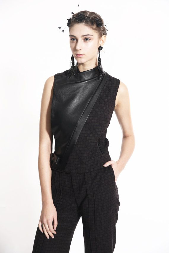 ON SALE 15% off, Regular Price: 95 GBP - Modern wool flannel jacket, Career women mature jacket
