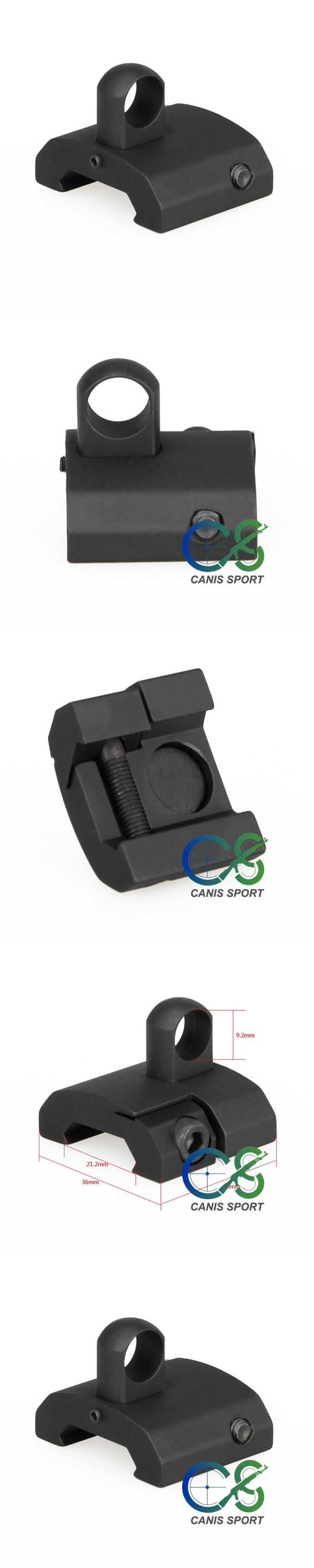 Hot Sale Tactical Accessories Sling Adapter Fixing Ring Strap Buckle For Hunting gs33-0133