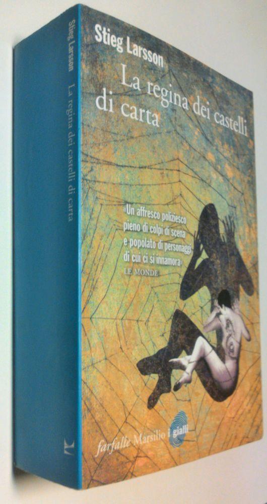 S.Larsson La regina dei castelli di carta 2009 Millennium Trilogy(3) Novel/Roman