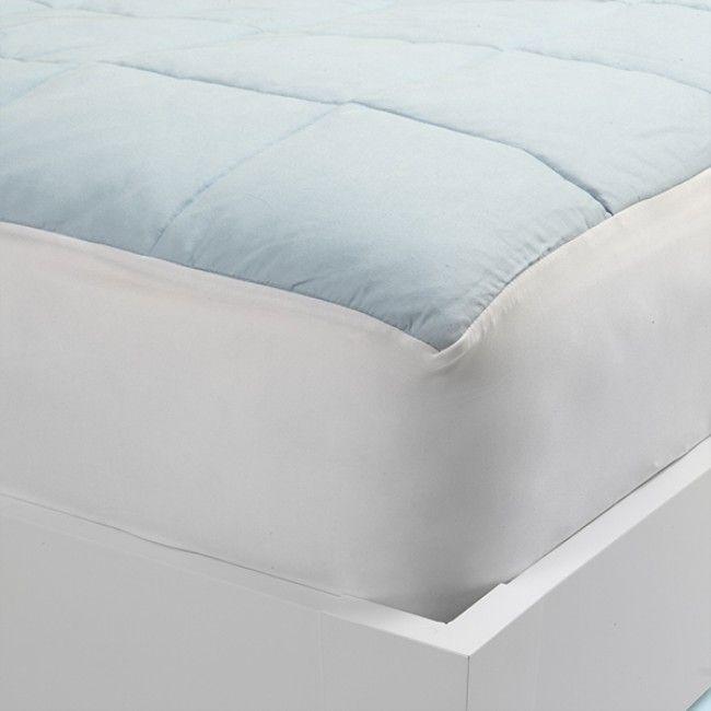 The Nacreous Mattress Pad - Blue