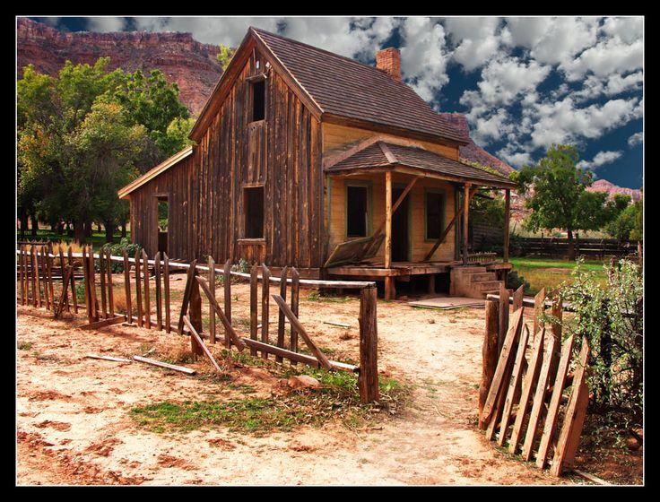 Utah Ghost Towns: Grafton, Utah.  This is the home of my Great Grandfather David Ballard.