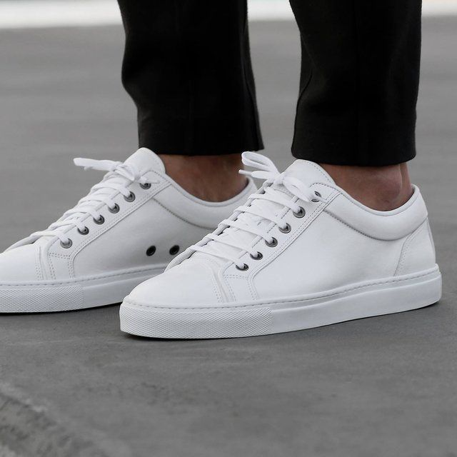 (255) Fancy - White Low Top 1 Sneakers by ETQ Amsterdam