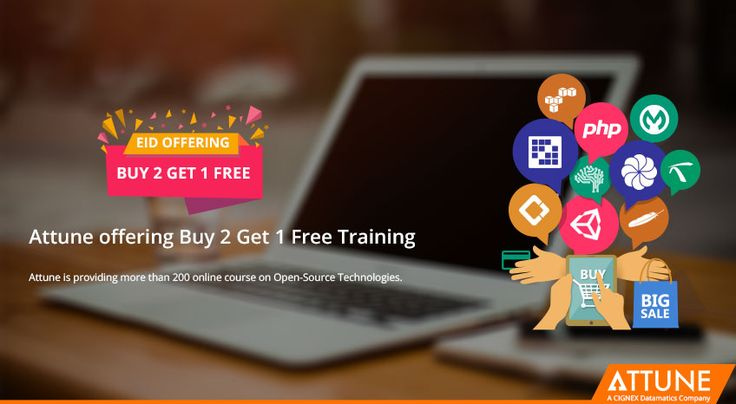 Attune offering Buy 2 Get 1 Free Training on the eve of Eid : https://goo.gl/qMqiiw