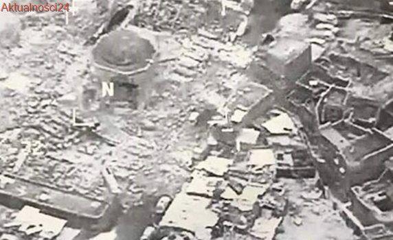Wojsko: dżihadyści wysadzili w powietrze Wielki Meczet w Mosulu