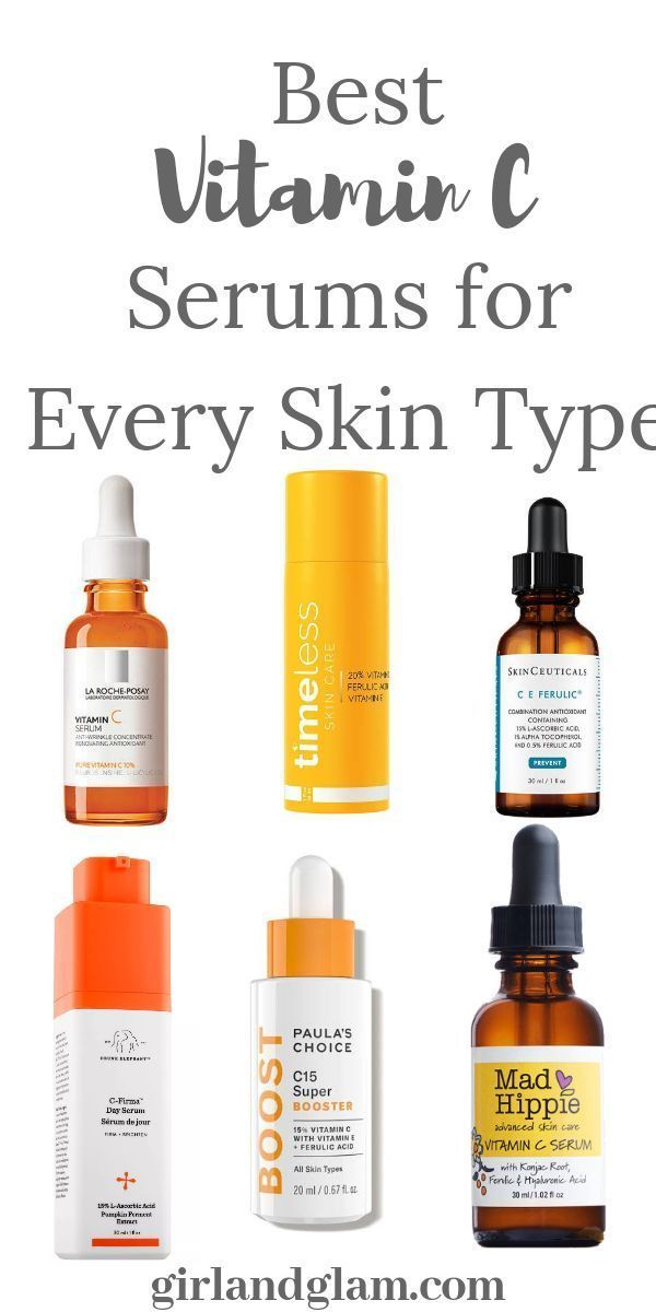 Vitamin C Serums For Every Skin Type In 2020 Best Vitamin C Serum Best Vitamin C Skin Types