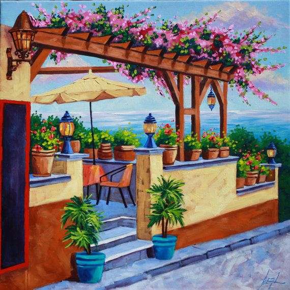 Rebecca Beal ~ Oceanside Cafe