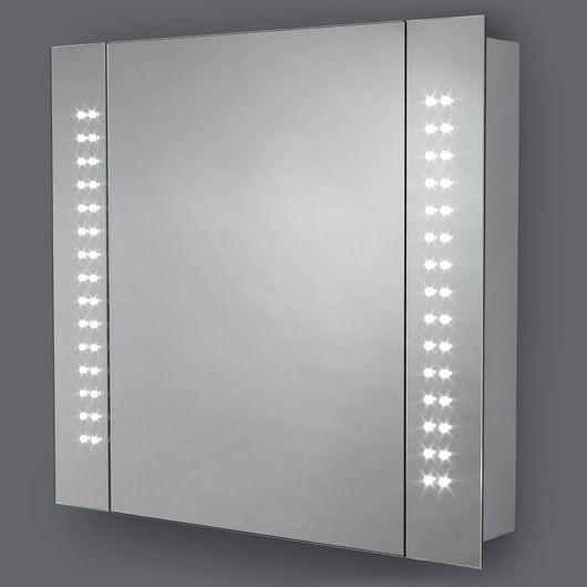 Kinsley led battery cabinet for the home pinterest for Bathroom cabinets dunelm