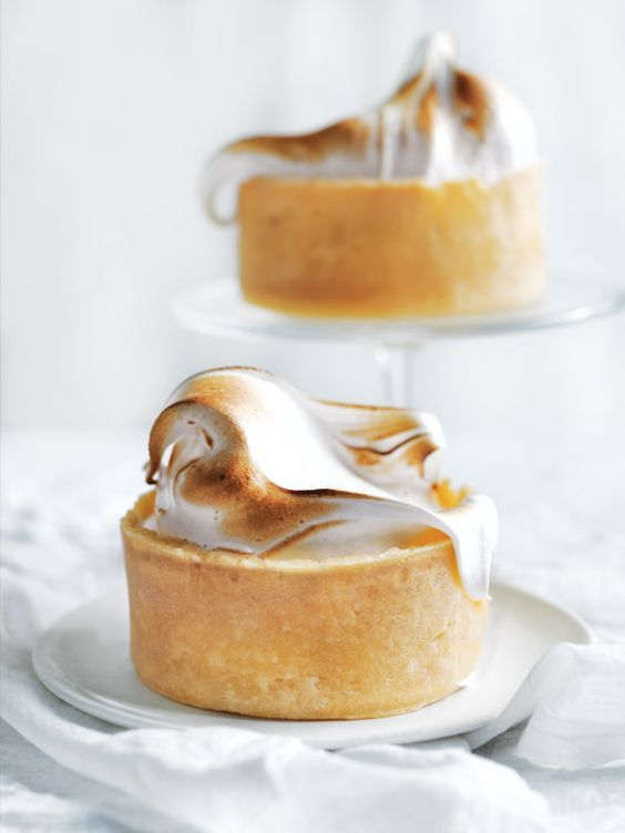 Individual Lemon Meringue Cheesecakes | Donna Hay