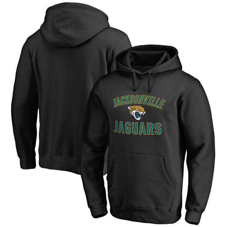 Jacksonville Jaguars NFL Pro Line Big & Tall Victory Arch Pullover Hoodie - Black