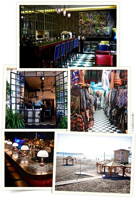 Les hot spots de Tel Aviv http://www.vogue.fr/culture/carnet-d-adresses/diaporama/les-hot-spots-de-tel-aviv/18266