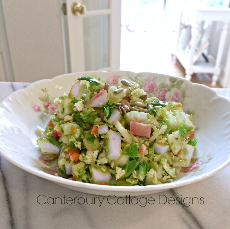 Fabulous Fall Detox Salad www.canterburycottagedesigns.blogspot.com