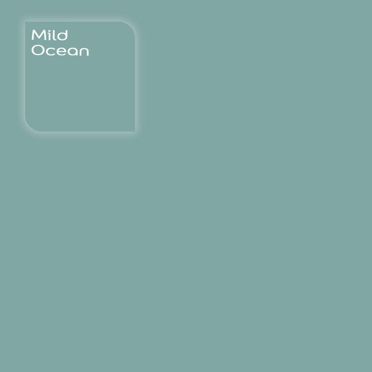 Pure by Flexa Colour Lab® kleur: Mild Ocean. Verkrijgbaar in verfspeciaalzaken. #kleur #kleuradvies #interieur #kleurstaal #kleurtester #decoratie #color #colorsample #coloradvice #interior #decoration #oceaan #turquoise #groenblauw #zeeblauw #seablue