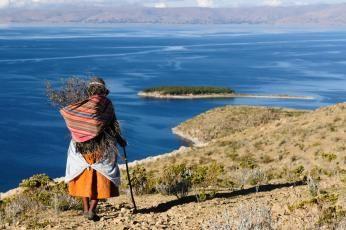 Titicacasøen i Peru
