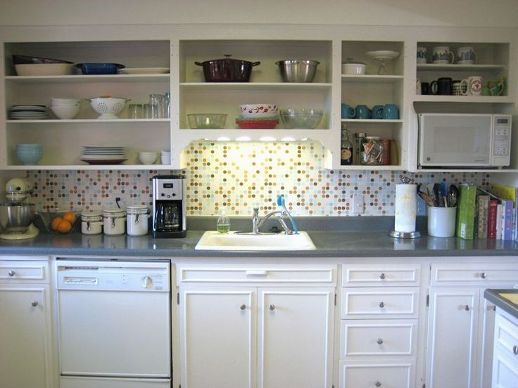 Kitchen Cupboards Without Doors | Open kitchen cabinets ...