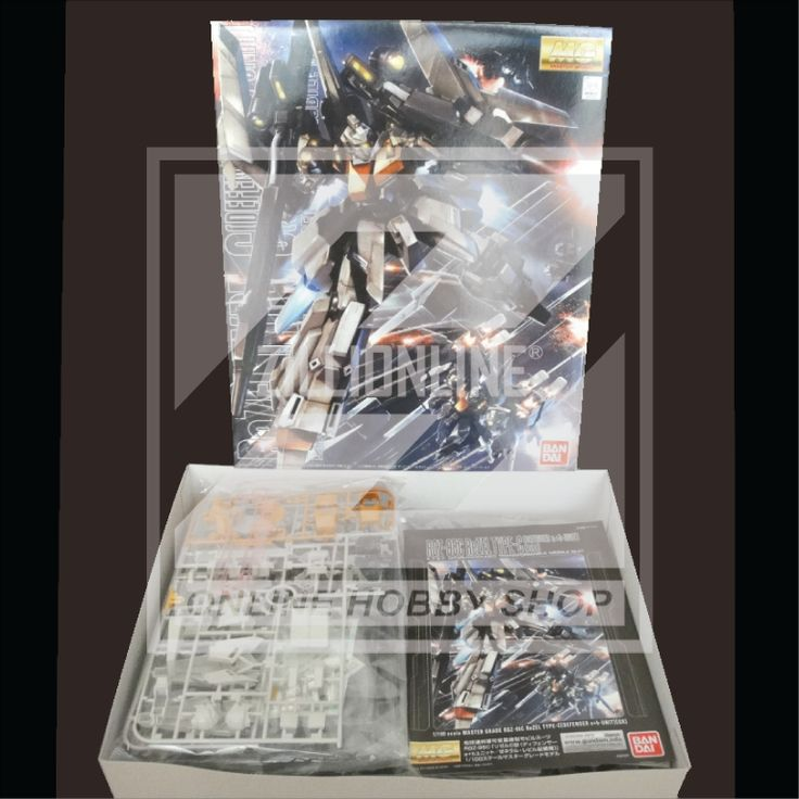 [MODEL-KIT] MG 1/100 - RGZ-95C - ReZEL [DEFENSER a+b UNIT - GENERAL REVIL CUSTOM]. Item Size/Weight: 39.2 x 31.2 x 14.5 cm / 1288g*. (*ITEM SIZE & WEIGHT BEFORE PACKAGED). Condition: MINT / NEW & SEALED RUNNER. Made by BANDAI.