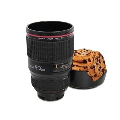 Oferta: 5.22€ Dto: -60%. Comprar Ofertas de kit taza de acero inoxidable de lente de camera con soporte de galleta 24 -105mm para té agua taza de café taza de acero [ver barato. ¡Mira las ofertas!