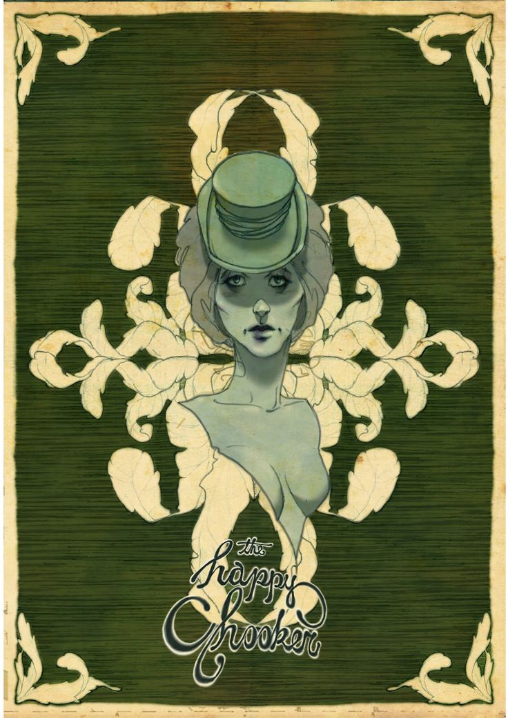 a female figure with sad eyes, a whore in a saloon, planted in an background inspired by the note bills design.