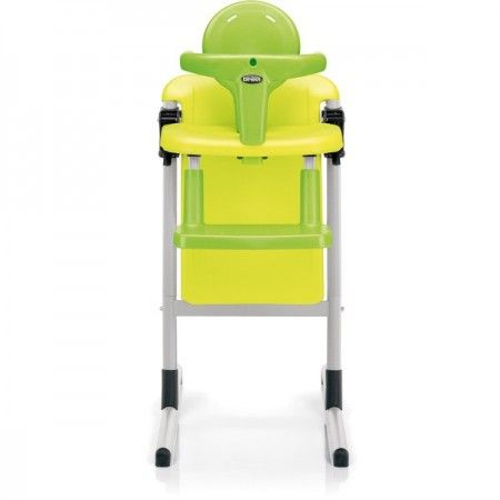 Chaise haute design Brevi Slex vainqueur au test vert