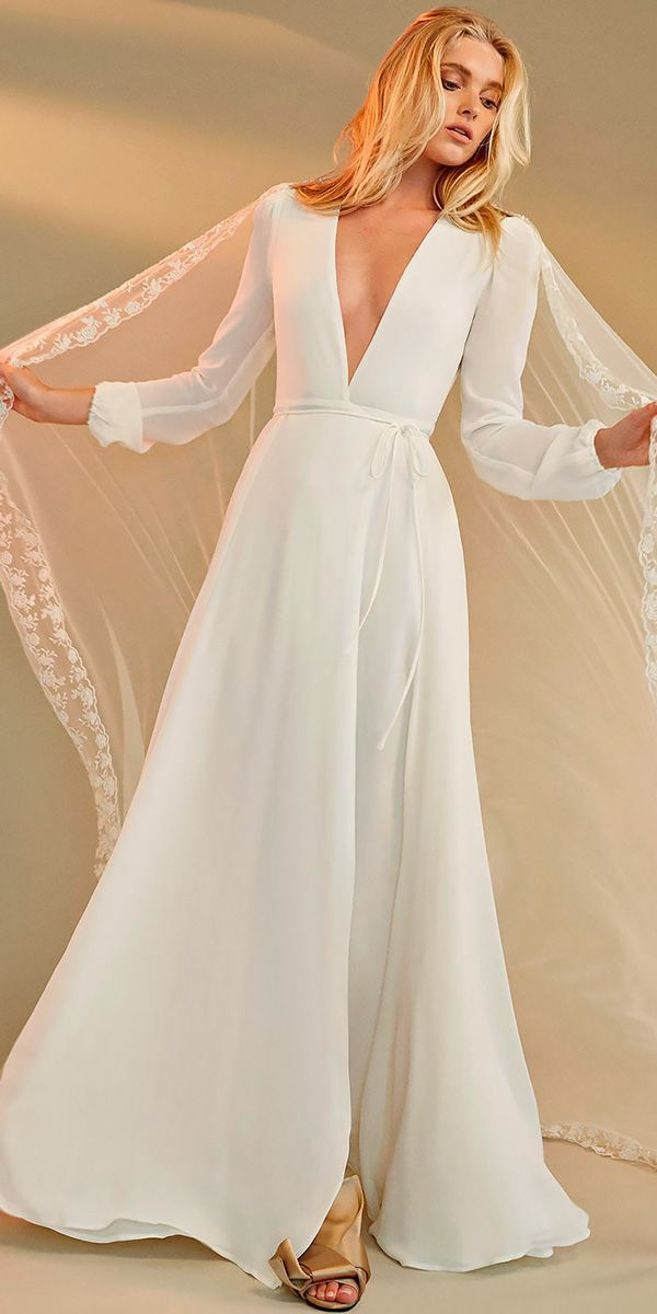 24 Stunning Wedding Dresses Under $1,000 ❤ See more: http://www.weddingforward.com/cheap-wedding-dresses/ #wedding