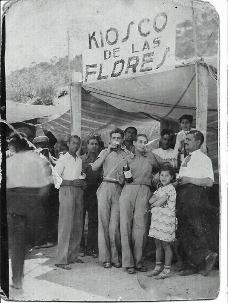 Plaza de las Flores, actual bar LA TAPA