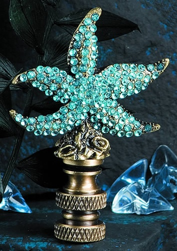 bejeweled finial