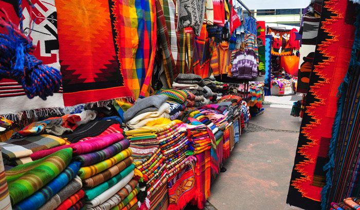 Bag a bargain for fabrics at the Textile Market